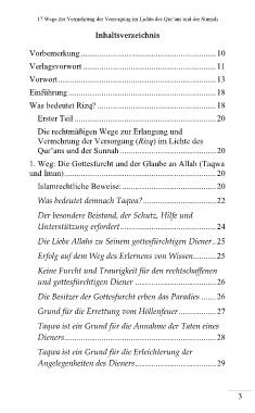 Page 1 Rizq 17 Wege Zur Vermehrung Der Versorgung Leseprobe