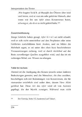 Page 254 Einführung In Die Koranwissenschaften Leseprobe